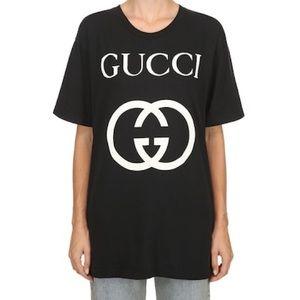Gucci GG black logo T-shirt